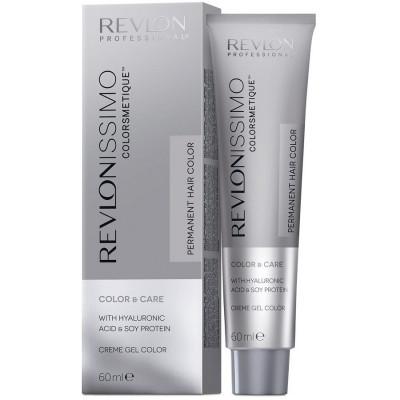 Краска перманентная Revlon Professional Revlonissimo Colorsmetique 8.24 Светлый Блондин Переливающийся Медный 60мл: фото