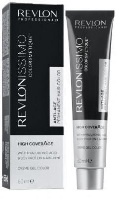Краска для седых волос Revlon Professional Revlonissimo High Coverage 6.42 Перламутрово-Коричневый Темный Блондин 60мл: фото