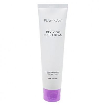 Крем-контур для вьющихся волос XENO Planplan reviving curl cream 150мл: фото