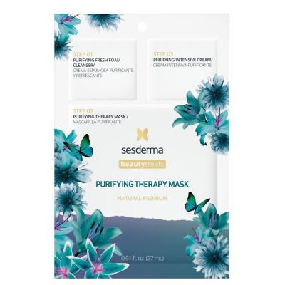 Маска очищающая для лица Sesderma BEAUTYTREATS Purifying therapy mask 27мл: фото