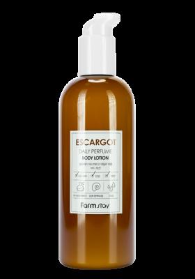 Лосьон для тела парфюмированный с муцином улитки FarmStay Escargot Daily Perfume Body Lotion 330мл: фото
