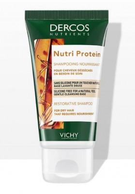 Шампунь Восстанавливающий VICHY DERCOS NUTRIENTS Nutri Protein 50мл: фото