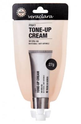 Тональный крем Veraclara Pinky Tone-up Cream розовый оттенок 27 г: фото