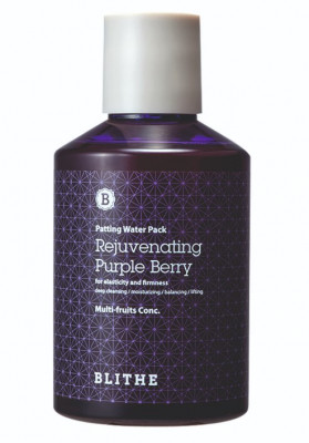 Сплэш-маска антивозрастная BLITHE Patting Splash Mask Rejuvenating Purple Berry 200 мл: фото