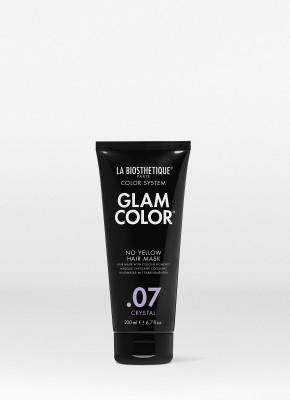 Тонирующая маска для волос La Biosthetique Glam Color No Yellow Hair Mask, 07 Crystal 200 мл: фото