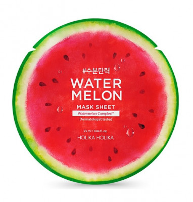 Маска тканевая Арбуз Holika Holika Water Melon Mask Sheet 25 мл: фото