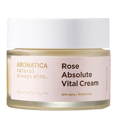 Крем ультрапитательный с экстрактом розы AROMATICA  Rose Absolute Vital Cream 50г: фото