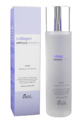 Ампульный тонер с коллагеном Ekel Collagen Ampoule Toner 150 мл: фото