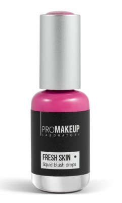 Эмульсионные румяна PROMAKEUP laboratory FRESH SKIN liquid blush drops 05 berry 8,5мл: фото
