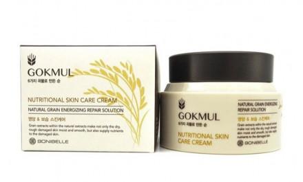 Питательный крем для лица ENOUGH Bonibelle Gokmul Nutritional Skin Care Cream 80мл: фото
