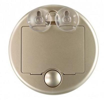 Зеркало косметологическое 10x с подсветкой Gezatone LM 100 золотое: фото